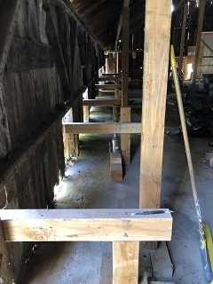 construction,leveling,rafters,posts,lifts