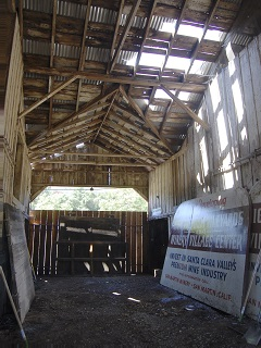 barn,metal,roof,breezeway,signs,