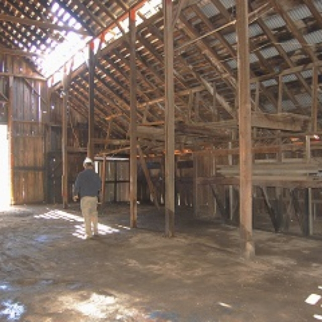 barn,roof,metal,dirt,dust,watering